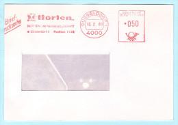 BUND BRD - AFS Freistempel Brief Meter Cover - 050 - 15.02.1980 Düsseldorf - Horten AG  (32368) - BRD