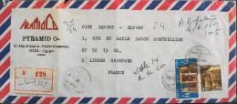 EGYPTE - Lettre Oblitérée Et Affranchie - Année 1987 - En Bon Etat - - Égypte