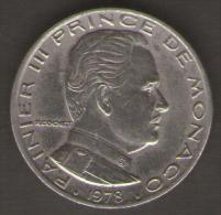 MONACO 1 FRANC 1978 - Monaco