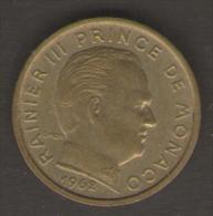 MONACO 10 CENTIMES 1962 - Monaco