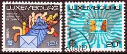 Luxemburg Mi 1199,1200 Europa Cept  Gestempeld Fine Used - Europa-CEPT