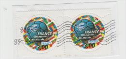 Frankreich  035 /   Fragment Mit Paar FRANCE 98 Fussball WM - Frankreich