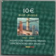 BELGIQUE - 10 € Argent -  2002 - Etat LUXE - Belgium