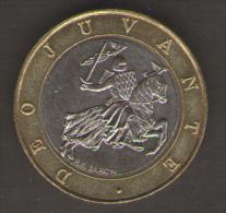 MONACO 10 FRANCS 1991 BIMETALLICA - Monaco