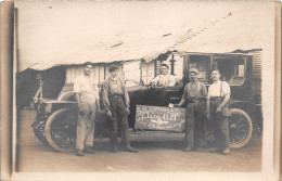 ¤¤  -   Carte-Photo Militaire Non Située  -  Soldats, Voiture, Parc Automobile De La Classe 1919   -  ¤¤ - Guerre 1914-18