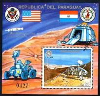 PARAGUAY - SPACE - COSMOS Mi # Bl 282 SPECIMEN VF - Paraguay