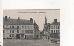 MORTAGNE - Place D'armes Et Rue D'Alençon - Mortagne Au Perche