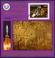 PARAGUAY - SPACE - COSMOS Mi # Bl 309 SPECIMEN VERY RARE! VF - Paraguay
