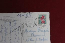 DEPART    RIOM 1962 POUR CASTRES - Marcophilie (Lettres)