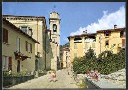 CPA Novaggio, Pensione Bellcantone Et Chiesa - TI Tessin