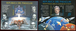 PARAGUAY - SPACE - COSMOS Mi#Bl 405/6 SPECIMEN - Paraguay