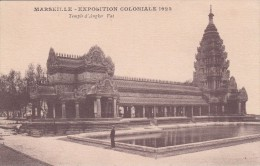 Cp , 13 , MARSEILLE , Exposition Coloniale , 1922 , Temple D'Angkor Vat - Expositions Coloniales 1906 - 1922