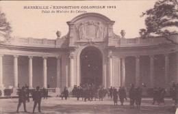 Cp , 13 , MARSEILLE , Exposition Coloniale , 1922 , Palais Du Ministère Des Colonies - Expositions Coloniales 1906 - 1922