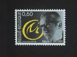 België Belgique Belgium 2004 France Frankrijk Edgar P. Jacobs Blake & Mortimer 3282 MNH ** - Emisiones Comunes