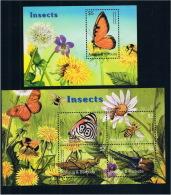 Antigua And Barbuda 2005 New Insect Butterfly MS + 1M 0210 - Antigua E Barbuda (1981-...)