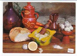 PO8080# RICETTE TIPICHE GASTRONOMIA - SPAGNA - ALLIOLI - AGLIO - MORTAIO  No VG - Ricette Di Cucina