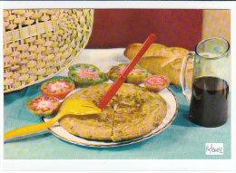 PO8081# RICETTE TIPICHE GASTRONOMIA - SPAGNA - TORTILLA - VINO  No VG - Ricette Di Cucina
