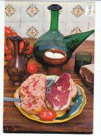 PO8082# RICETTE TIPICHE GASTRONOMIA - SPAGNA - PANE Al POMODORO - PROSCIUTTO - BROCCA Del VINO  No VG - Ricette Di Cucina