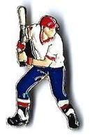 BASEBALL - B2 - BATTEUR - Verso : SM - Baseball