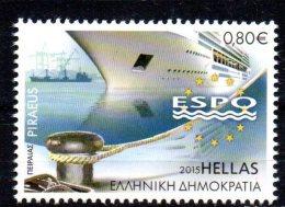 GRECE - GREECE - 2015 - PORT DU PIREE - ESPO - 0.80 - - Greece