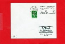 CHamrousse  (( été - Hiver )) - Marcophilie (Lettres)