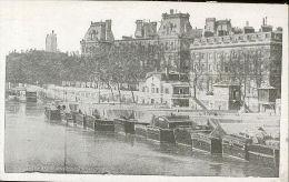 75 PARIS - Quais Et Port De L'hotel De Ville - France