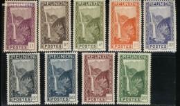Réunion - Neuf - Charnière  Y&T 1933  N° 125-126-127-128-129-130-131-132-133 Cascade St-Denis Bras Des Demoiselles - Réunion (1852-1975)