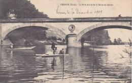 Vernon La Rive Droite De La Seine En Amont Pédalos - Vernon