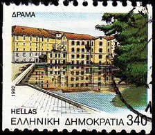 GREECE - Scott #1759a Capitals Of Prefectures, Drama 'Perf. 10 ½ Horiz' (*) / Used Stamp - Greece