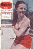 île Du Levant -Naturisme 55 N° 62 (5e Année) Photos De S.de SAZO - Kranten
