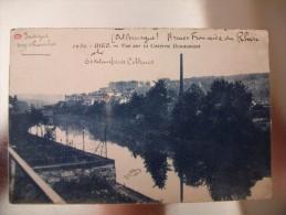 Carte Postale Allemagne Diez Vue Sur La Caserne Douaumont Correspondance Militaire Oblitération 1925 - Diez