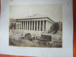 LOTE DE 13 FOTOGRAFIAS DE PARIS DE GRAN TAMAÑO CIRCA 1880 SOBRE CARTON TBE - Places