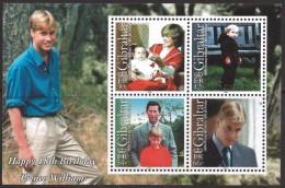 Gibraltar 2000 - 18e Ann Du Prince Williams - BF Neufs // Mnh - Gibraltar
