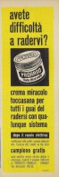 # PRORASO SHAVING CREAM, ITALY 1950s Advert Pubblicità Publicitè Reklame Crema Barba Afeitar Creme Rasage Rasierschaum - Perfume & Beauty
