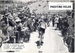 Photo Cyclisme Tour De France 1930, La Foule Acclame Benoît-Faure à Son Passage Au Sommet Du Tourmalet - Cyclisme
