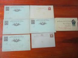INTEROS LOTE DE 16 ENTEROS POSTALES ENTIERS URUGUAY ARGENTINA ITALIA OTHERS SOLD AS IS RARES - Postzegels