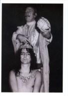 Surrealist Artist Salvador Dali & Shock Rocker Alice Cooper NYC 1973 BW Postcard - 23378 - Sänger Und Musikanten