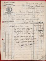 Facture (Lot De 2 Réunies) 63 THIERS - Fabrique De Coutellerie Fine BUISSON-LAGARDE Fres & Cie (Maison Lagarde) - 1900 – 1949