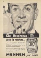 # MENNEN DEODORANT,  ITALY 1950s Advert Pubblicità Publicitè Reklame Deodorante Desodorant Desodorante - Unclassified