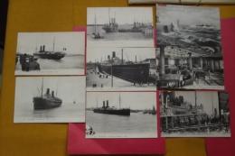 Cp Le Havre Lot 20 Cartes Paquebots - Piroscafi