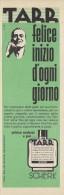 # TARR SCHERK SHAVE LOTION (type 2),  ITALY 1950s Advert Pubblicità Publicitè Reklame Lozione Barba Rasage Rasierwasser - Perfume & Beauty