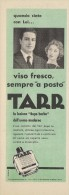 # TARR SCHERK SHAVE LOTION,  ITALY 1950s Advert Pubblicità Publicitè Reklame Lozione Barba Rasage Afeitar Rasierwasser - Perfume & Beauty