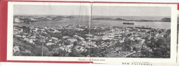 New Caledonia Souvenir Multi-view Fold Out Street Scenes Casino Tourism Countryside, C1920s Vintage Postcard Folder - New Caledonia