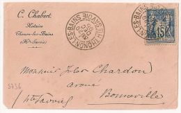 THONON LES BAINS Haute Savoie Sur Devant  SAGE, CHABERT Notaire. - 1877-1920: Période Semi Moderne
