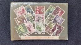 España   Plaqueta   Serie   MISTERIOS DEL ROSARIO   1962  Completa  Usados - 1931-Hoy: 2ª República - ... Juan Carlos I