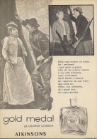 # ATKINSONS ENGLISH LAVENDER 1950s Italy Advert Pubblicità Publicitè Reklame Parfum Perfume Profumo Cosmetics Hunt - Sin Clasificación