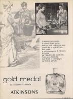 # ATKINSONS ENGLISH LAVENDER 1950s Italy Advert Pubblicità Publicitè Reklame Parfum Perfume Profumo Cosmetics - Unclassified