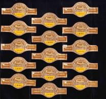 Cigar Bands - Verellen LTD, Antwerpen, Fondateur, Choisi - Sigarenbandjes