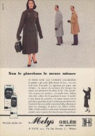 # MELYS GELEE VALLI CREMA MANI 1950s Advert Pubblicità Publicitè Reklame Moisturizing Hand Cream Creme Mains Protector - Perfume & Beauty