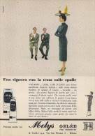 # MELYS GELEE VALLI CREMA MANI 1950s Advert Pubblicità Publicitè Reklame Moisturizing Hand Cream Creme Mains Protector - Unclassified